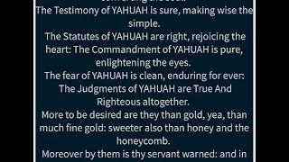 Psalm 19:7-11
