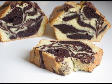 recette de g teau au yaourt marbr marble cake recipe youtube. Black Bedroom Furniture Sets. Home Design Ideas