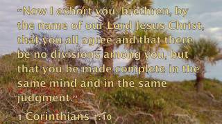 Christian Fellowship - Bible Promises Spoken