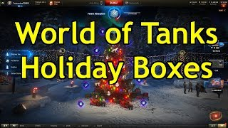 World of Tanks - Opening 200 Holiday Boxes!