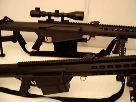 Barrett M82 Airsoft Review (French Version) Snow Wolf VS Socom Gear