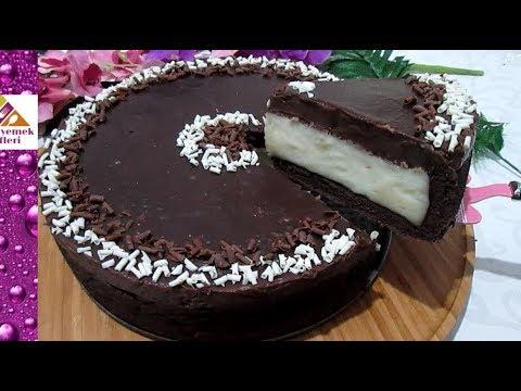 Bu Kışın fenomen PASTASI olacak🔝📈 muhallebili çikolatalı pasta tarifi Pratik Yemek Tarifleri