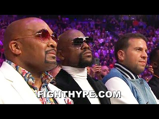 """FLOYD MAYWEATHER REACTION TO PACQUIAO DROPPING AND BEATING THURMAN: """"NOT SURPRISED"""" thumbnail"""