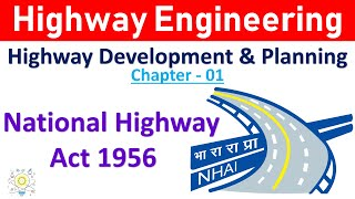 National Highway Act 1956 in Hindi | Highway Engineering