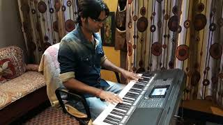 SHOLEY THEME MUSIC  Full Orchestra into a Keyboard  Yamaha Digital Arranger