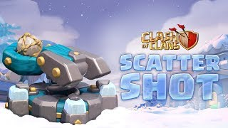 The Scattershot! New Town Hall 13 Defense (Clash of Clans Town Hall 13)