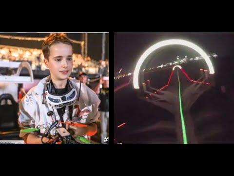 World Drone Prix | 15-Year Old Pilot Wins $250K