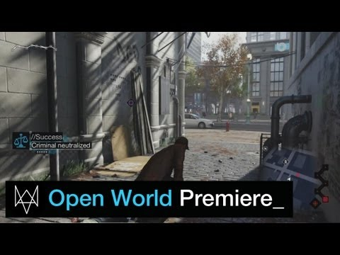 Watch_Dogs: Open World Gameplay Premiere Commented