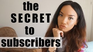 VLOG| The Secret to Getting Subscribers on YouTube