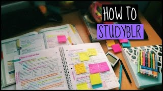 How to studyblr and how it helped me