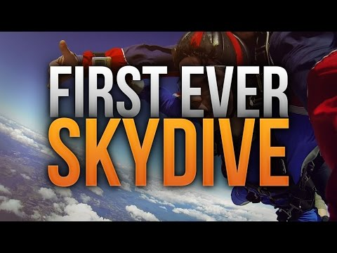 FIRST EVER SKYDIVE!