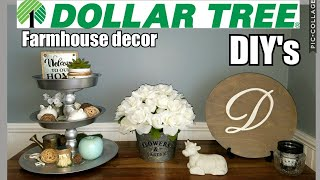 Dollar Tree Farmhouse DIY's