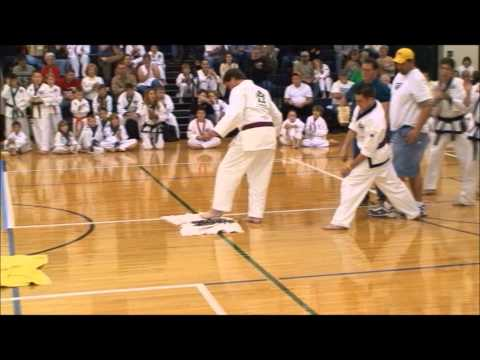 Tang Soo Do UTA Karate Manchester PA  Breaking Martial Arts Demonstration Demo Tae Kwon.wmv Image 1