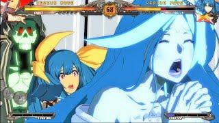 【PS4】 GGXrdR ディズィー リアクション抜粋 【Super Attacks】