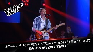 The Voice Chile | Matías Schulze - Last Nite