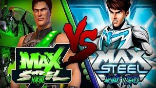 MAX STEEL VS MAX & STEEL [Olimpiadas de Rap Friki Legendarias T2] Arubato (Con Zigred y Makibe. )