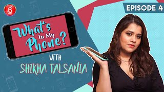 Shikha Talsania Reveals That Soha Ali Khan Never Picks Up Her Calls | What's In My Phone?