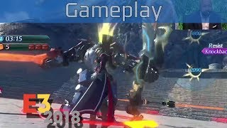 Xenoblade Chronicles 2 - E3 2018 Challenge Mode Gameplay [HD]