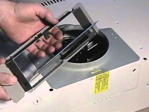how to clean microwave vent duct
