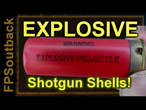 Explosive Shotgun Shells + Giveaway