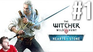 The Witcher 3 - Hearts of Stone DLC Blind Playthrough - Part 1