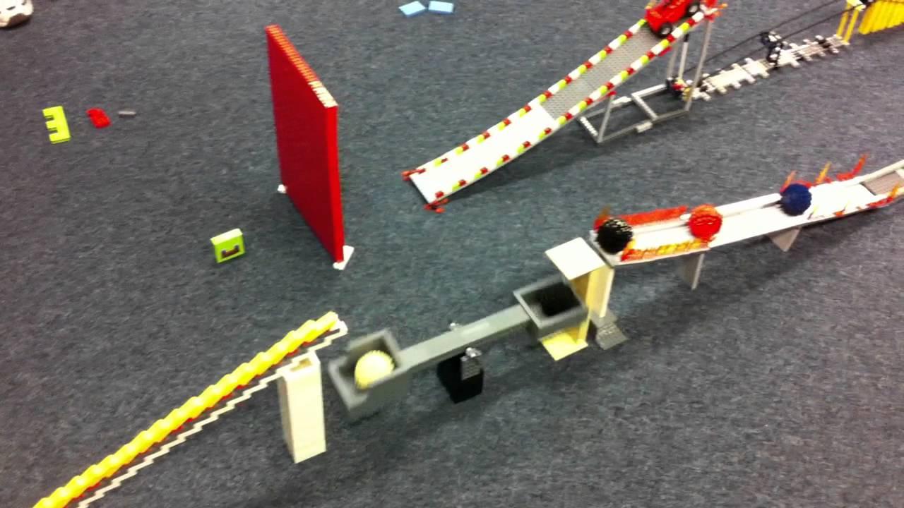 lego rube goldberg machine
