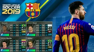 Hack Team ya [ FC BARCELONA ] kwenye Dream league soccer 19-20