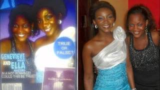 Genevieve Nnaji Caught In Lésbianism Act With Actress Ella