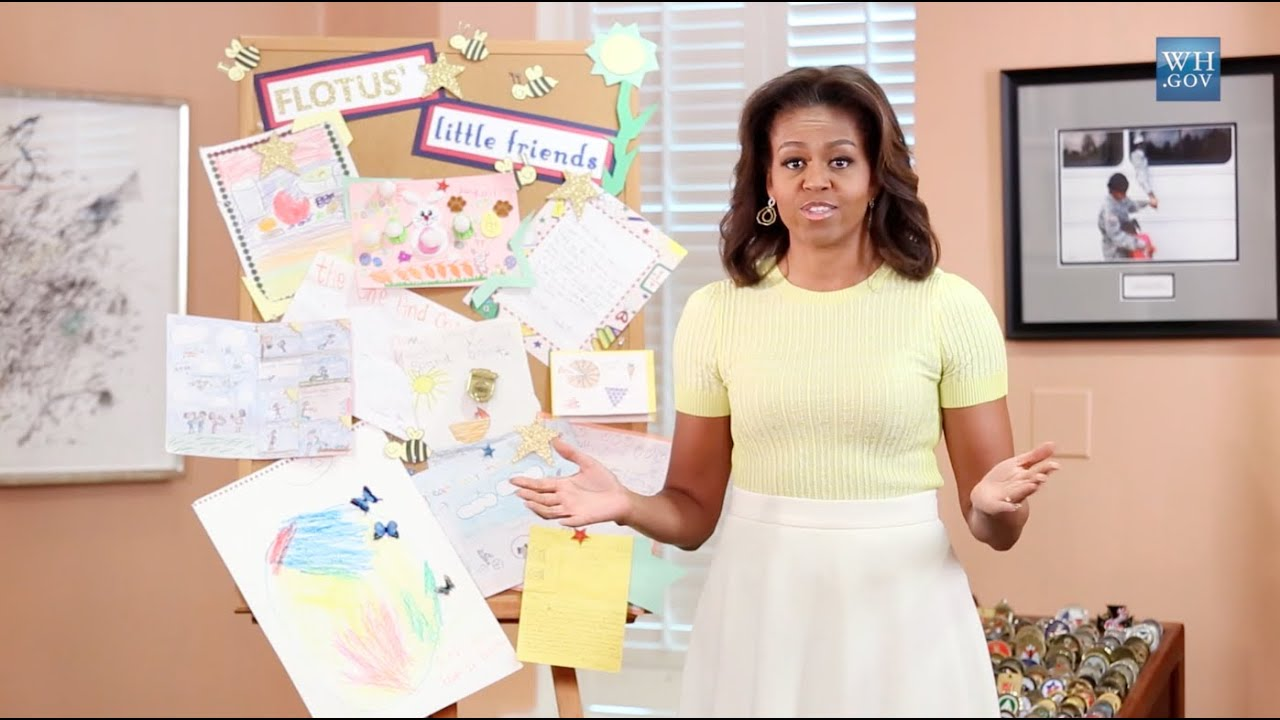 #InsideTheEastWing: Letters to the First Lady