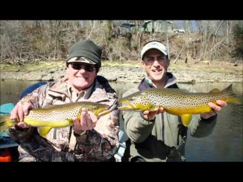 White River Trophy Streamer Fishing _