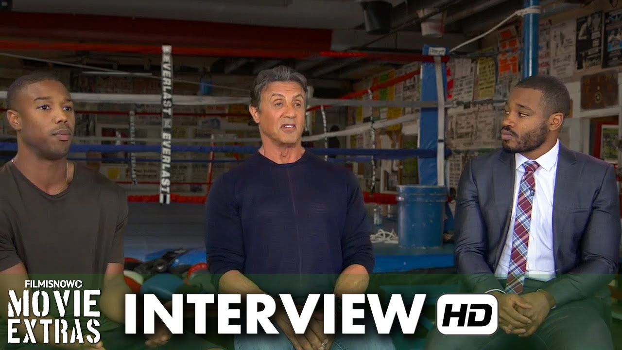 Creed (2015) BTS Movie Interview - Ryan Coogler, Sylvester Stallone and Michael B. Jordan