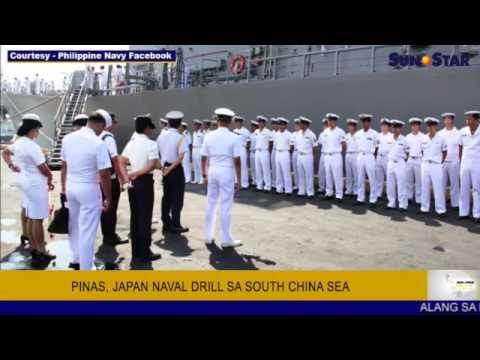Pinas, Japan naval drill sa South China Sea