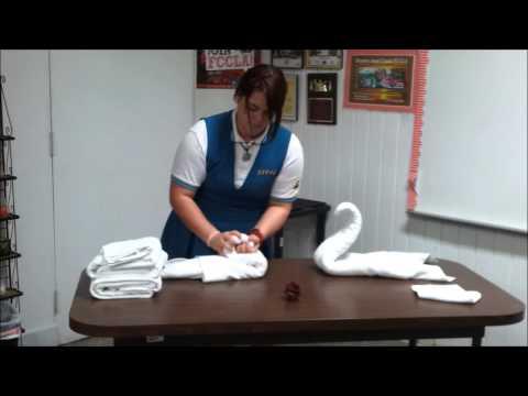 Toallas de animales (Cisnes)