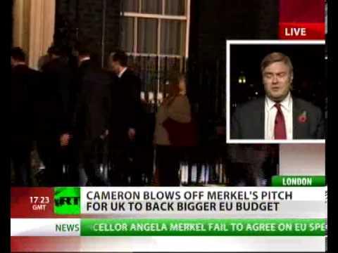 Cameron blows off Merkel's pitch for UK to back bigger EU budget