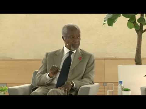 A conversation with Kofi Annan and Michel Sidibé