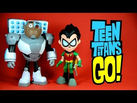 Teen Titans Go Robin and Cyborg 8