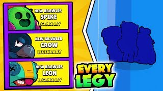 UNLOCKING TRIPLE LEGENDARIES! ALL LEGENDARY BRAWLERS IN 3 MINUTES IN BRAWL STARS