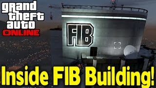 Grand Theft Auto 5 Online - How To Play In The FIB Building On Multiplayer