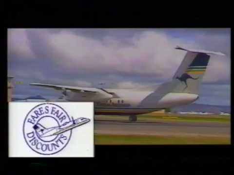 Eastern Australia Airlines commercial from 1991.