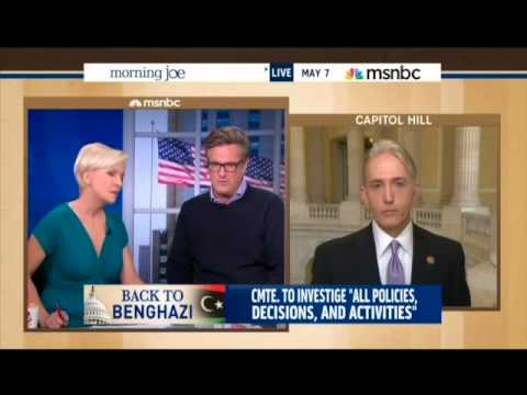 Rep. Gowdy Talks Benghazi with Morning Joe