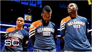 Kevin Durant, Russell Westbrook, and James Harden: The Thunder dynasty that never was | SportsCenter