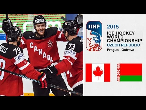 Canada vs  Belarus | 14.05.2015 |  2015 IIHF World Ice Hockey Championship | NHL 15 [1080p 60FPS]