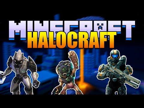 Minecraft HALOCRAFT Mod - Grunts, Warthogs, and Spartans! (Minecraft v1.8 Mod Spotlight)