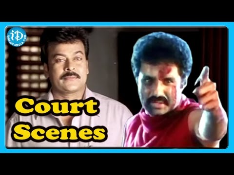 Tollywood Heroes Best Court Scenes || Chiranjeevi || Balakrishna || Nagarjuna