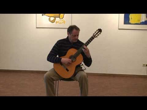 Emilio Pujol-Fragmento de la Chacona de JS Bach