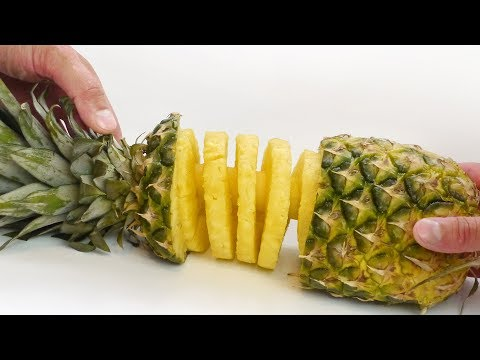 Pineapple Spiral -  Food Hack with Slicer Kitchen Gadget