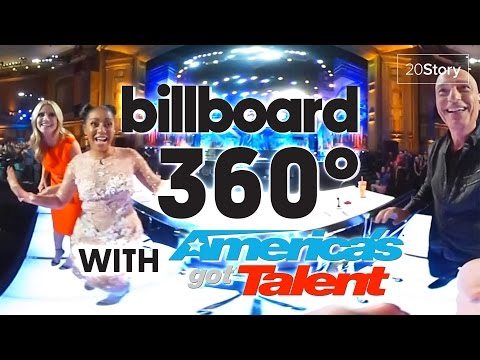 America's Got Talent : 360 Video [Exclusive] | Judges Entrance