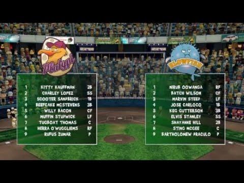 Super Mega Baseball - Short Season - Game 1
