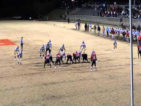 Sam Humble football highlights 2011-2012  Salisbury High School