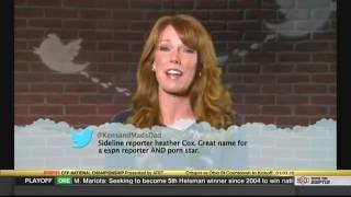 Kirk Herbstreit had the best response to college football 'Mean Tweets'   SBNation com